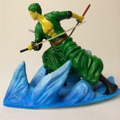 海贼王 索隆-3d打印模型
