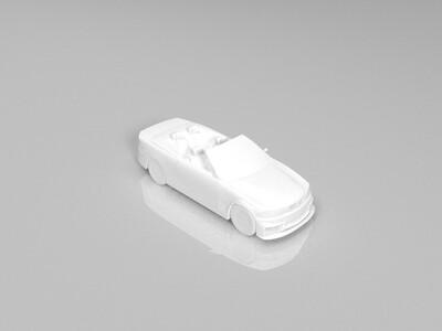 宝马E36-3d打印模型