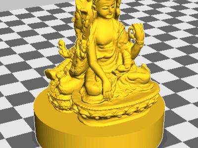 三面佛-3d打印模型