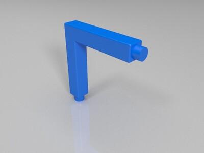 月球灯支架-3d打印模型