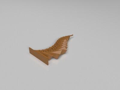 镂空建筑-3d打印模型