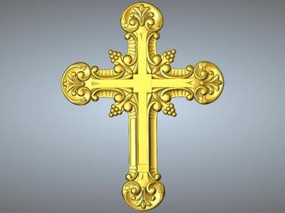 十字架吊坠(吊饰)13-3d打印模型