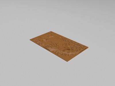 鹤雕-3d打印模型
