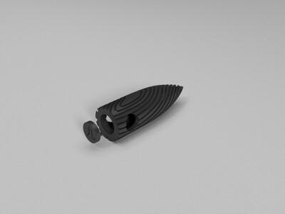 战狼2子弹头-3d打印模型
