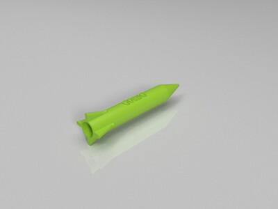 东风导弹-3d打印模型