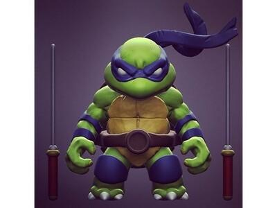 忍者神龟-3d打印模型