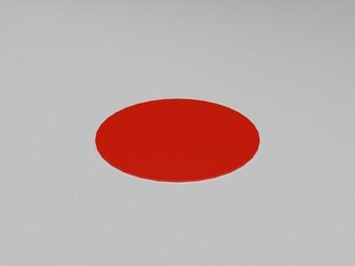 小猪佩奇分解版QQ企鹅雌雄一对-3d打印模型