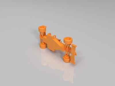 奔驰F1赛车-3d打印模型