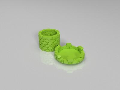 炮台杯子-3d打印模型