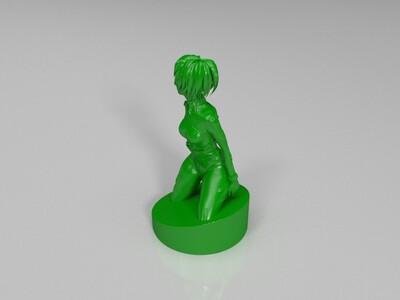 新世纪美女战士-3d打印模型