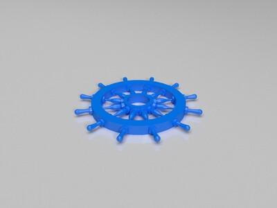 船舵 地中海装修风格用品-3d打印模型