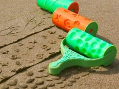 砂模式辊-3d打印模型