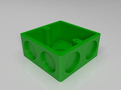 86底盒 深39mm 尺寸86*86*39-3d打印模型