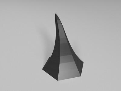 牛角灯-3d打印模型