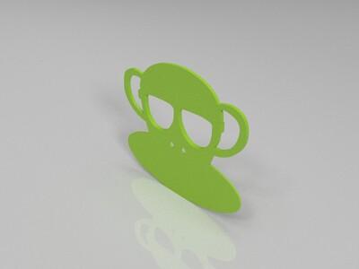 临时停车牌-3d打印模型