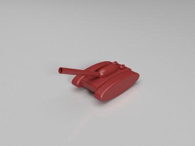 坦克-3d打印模型