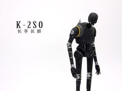 星球大战中K2-SO机器人-3d打印模型