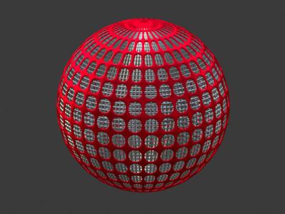 镂空圆球模型,欢迎定制-3d打印模型