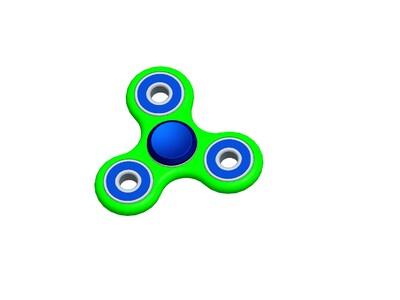 指陀螺-3d打印模型