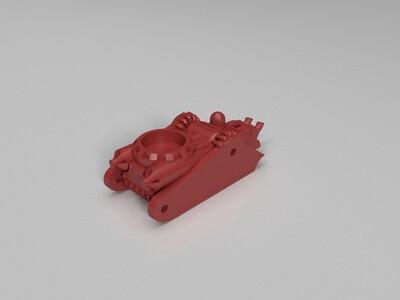 履带机器人-3d打印模型
