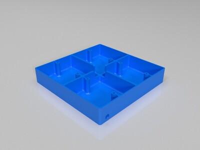 86插座盒-3d打印模型