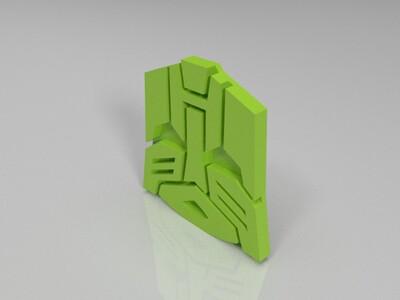汽车人标志-3d打印模型