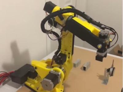 AR2——6轴机械臂-3d打印模型