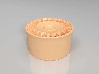 模型车改装轮毂-3d打印模型