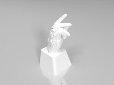 钢铁侠响指机械键盘帽-3d打印模型