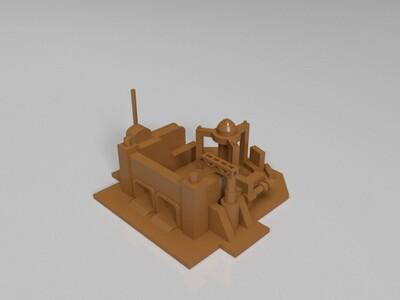 红警2中立全部建筑模型-3d打印模型