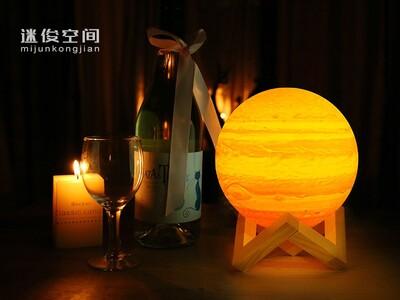 3D打印木星灯-3d打印模型