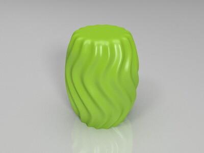 扭曲花瓶、灯罩模型,欢迎定制-3d打印模型