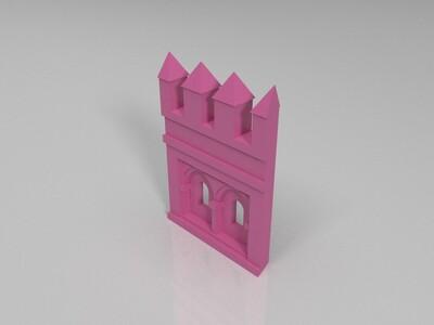 黄金塔-3d打印模型