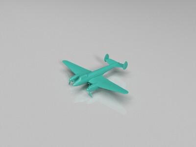 苏联pe-2轰炸机-3d打印模型