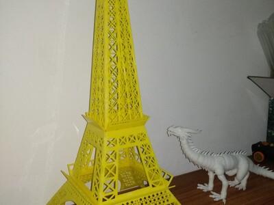 巴黎铁塔(立体拼图体验版)-3d打印模型