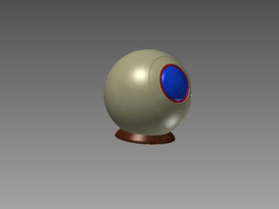 发射球-3d打印模型