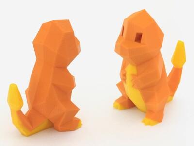 小火龙-3d打印模型