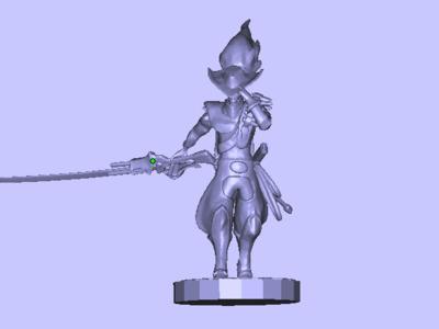 游戏角色-3d打印模型