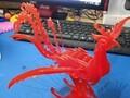 凤凰立体拼图(亦可)-3d打印模型