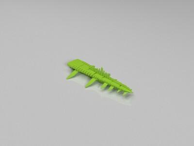 复联1 齐塔瑞 飞行大军-3d打印模型