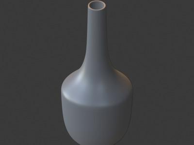 北欧极简创意花瓶-9-3d打印模型