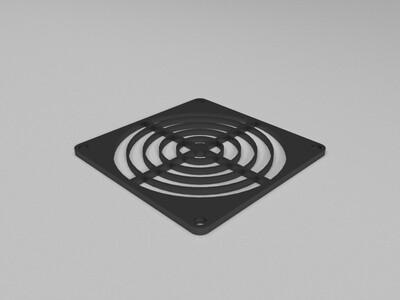 风扇挡板-3d打印模型