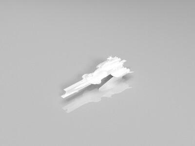 机动战士高达拉·凯拉姆号战舰-3d打印模型