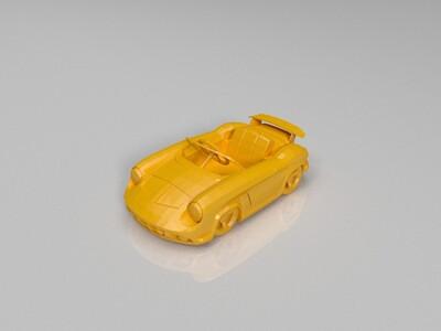 跑跑卡丁车-spyder-3d打印模型