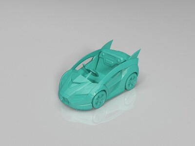 跑跑卡丁车-威龙-3d打印模型