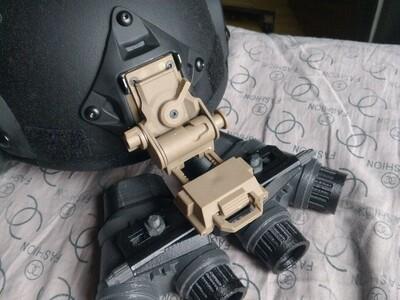 4眼夜视仪模型-3d打印模型
