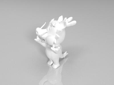 新十二生肖(龙)-3d打印模型