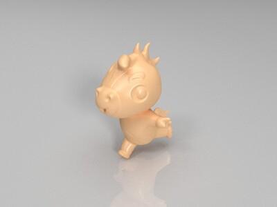 新十二生肖(马)-3d打印模型