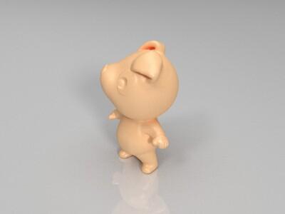 新十二生肖(狗)-3d打印模型