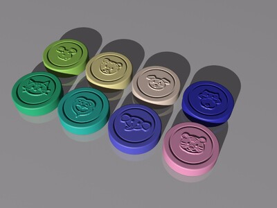 斗兽棋-3d打印模型